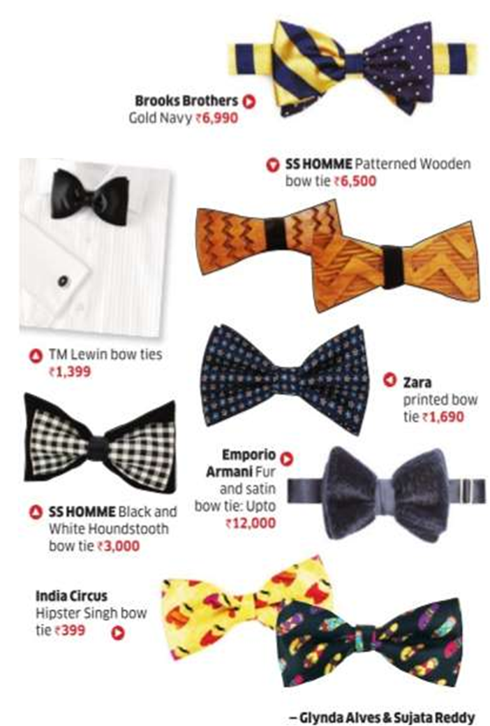 India Circus BowTies in Economic Times Panaach - June 2014