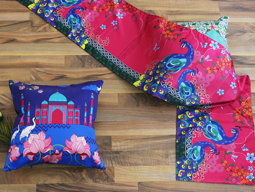 Holi Special: Lazing Around With Our Colourful Throws