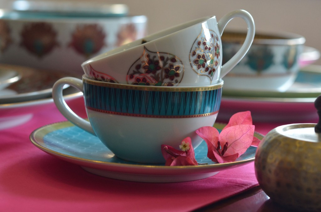 Designer Cup and Saucer