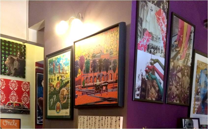Dynamic and Colourful Wallart