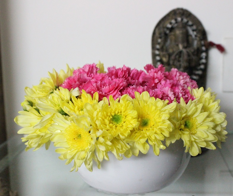 Flower Arrangement On Your Table