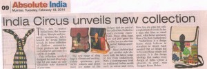 India Circus featured in Absolute India