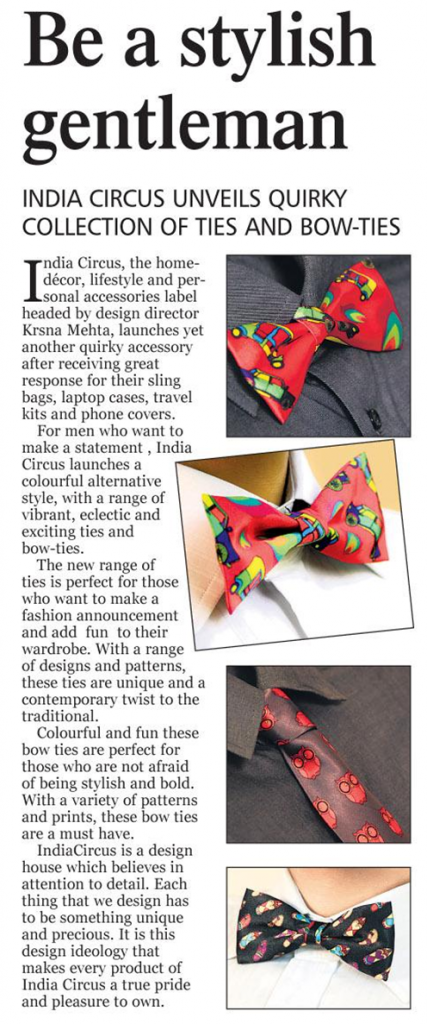 Designer Ties and Bow-Ties - Absolute India