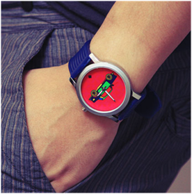 Funky wrist watches by India Circus