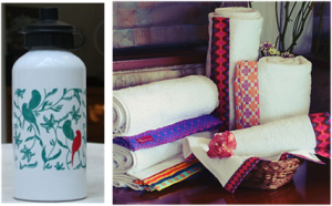 Quirky Sippers and Soothing Towels by India Circus